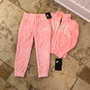 Nike Velour Track Suit